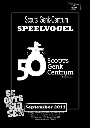 September - Scouts Genk Centrum