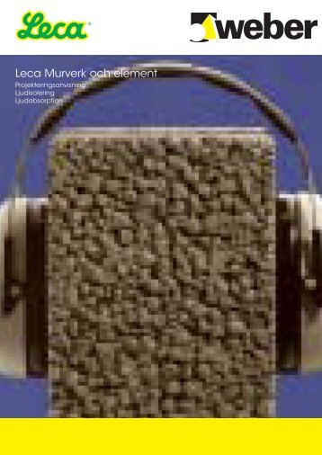 Leca® Ljud - Weber