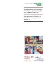 Analyse af begrebet service og værtskab inden for hotel- og ...
