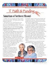 Samaritans of Northwest Missouri - Missouri United Methodist ...