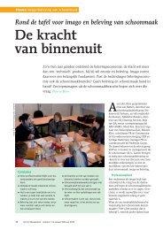 artikel Ronde Tafel imago schoonmaak - Verhoeven & Partners