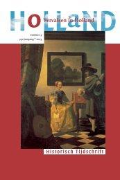 download de pdf - Holland Historisch Tijdschrift