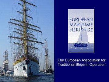 general presentation - European Maritime Heritage EMH