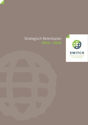 Strategisch beleidsplan Switch (publieksversie)