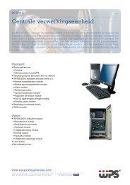 Centrale verwerkingseenheid - WPS