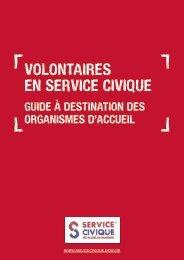 Guide à destination des organismes d'accueil - Service Civique