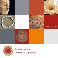 Download de brochure - Boswijk Instituut
