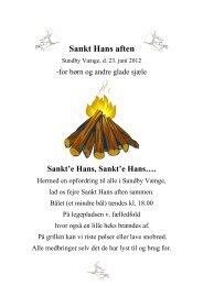 Sankt Hans aften - Sundby Vænge
