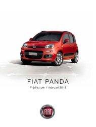 FIAT PANDA - Auto Kuijer