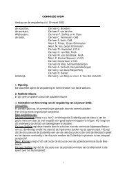 verslag vergadering 19 maart 2002 - Gemeente Drimmelen - 3 juli ...