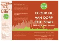 Download onze brochure - Stichting ECOHB Nederland