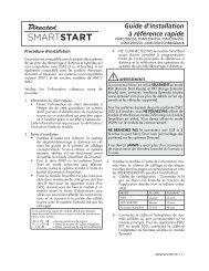 Guide d'installation à référence rapide
