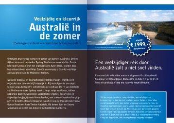 Australië in de zomer