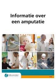 Informatie over een amputatie - Meander Medisch Centrum