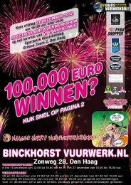 nieuw - Binckhorst Vuurwerk