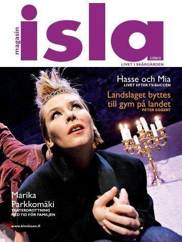 Läs Magasin Isla i pdf-version. - Kimitoön kommun