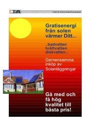 Gratisenergi från solen värmer Ditt... Gå med och få hög ... - Task 24