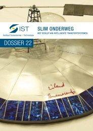 Dossier 22: Slim Onderweg! - Instituut Samenleving en Technologie