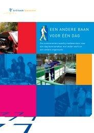 publicatie een andere baan voor één dag - A+O fonds Gemeenten