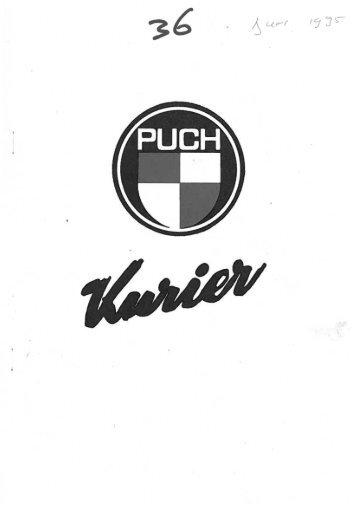 Kurier 36 - Puch Club Nederland