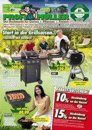 Start in die Grillsaison... ...grillen mit Genuss! RABATT-GUTSCHEIN!