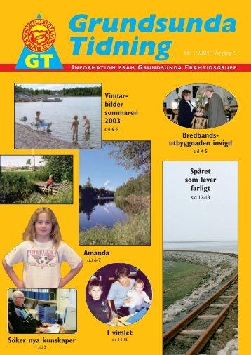 Grundsunda Tidning - Grundsunda FramtidsGrupp