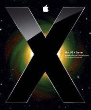 Netzwerkdienste – Administration - Support - Apple