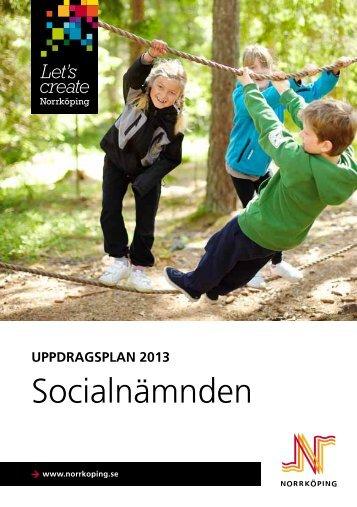 Uppdragsplan för socialnämnden - Norrköpings kommun
