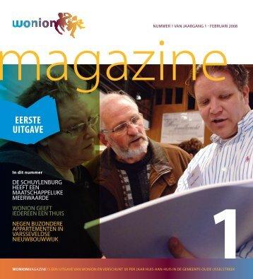 Wonion Magazine nummer 1