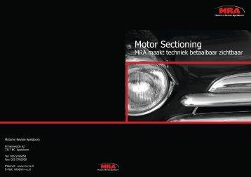 Motor Sectioning - Motoren Revisie Apeldoorn