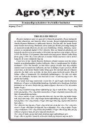 Et månedligt nyhedsbrev fra Schiller Instituttet TRO ELLER FRYGT
