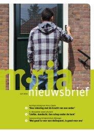 Nieuwsbrief juni 2012 - Stichting Moria