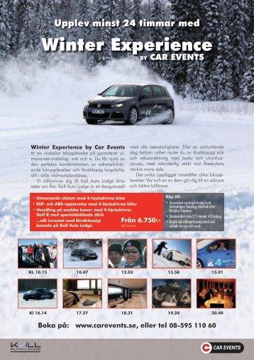Läs mer om årets häftigaste vinterupplevelse! - Car Events