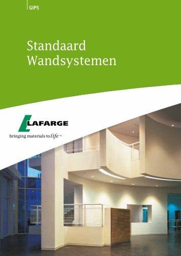 Standaard Wandsystemen