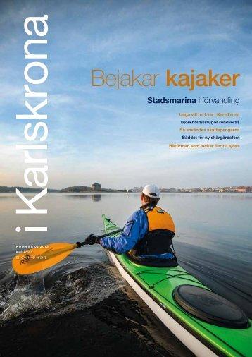 iKarlskrona nr 2 2013, pdf, 4 MB - Karlskrona kommun