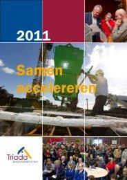 Jaarverslag 2011 - Triada