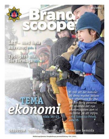 Brandscoopet 1-2013.pdf - Räddningstjänsten Storgöteborg