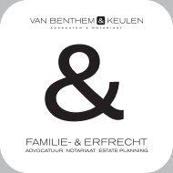 Brochure Familie- & Erfrecht - Van Benthem & Keulen