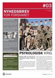 Nyhedsbrev for Forsvaret nr 3.pdf - Forsvarskommandoen