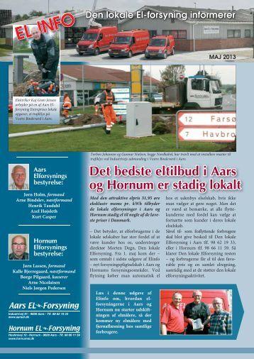 Læs nyeste El-info her - Aars Elforsyning