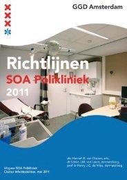 Richtlijnen SOA Polikliniek 2011-2012 - GGD Amsterdam