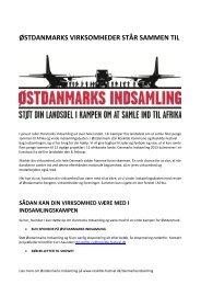 Til private virksomheder (pdf) - Roskilde Festival