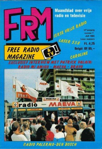 Free Radio Magazine juli 1984