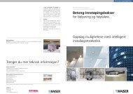 Betong-innstøpingsbokser - Stork AS
