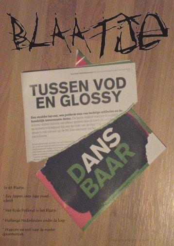 Het Blaatje Nr. 2 - Faculteit der Sociale Wetenschappen - Radboud ...