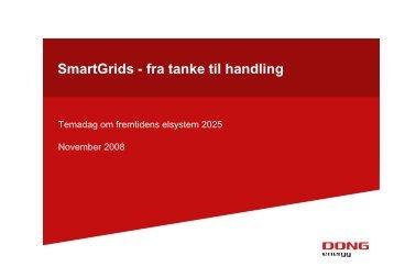 SmartGrids - fra tanke til handling - Energinet.dk