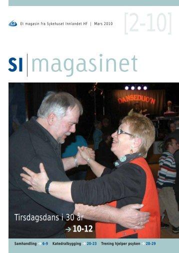 SI Magasinet nr 2-2010 - Sykehuset Innlandet HF