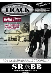 Track oktober 2012 - Stichting Rhythm & Blues Breda