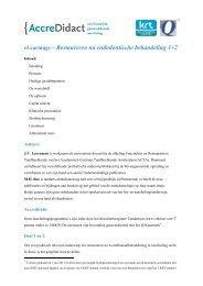 Restaureren na endodontische behandeling 1+2 - AccreDidact