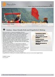 Guizhou - Kinas Ukendte Perle med Dragefestival i ... - MarcoPolo